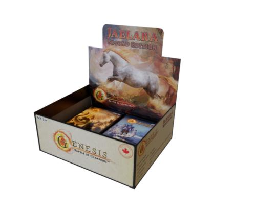 1x Jaelara Booster Box Second Edition New Genesis: Battle of