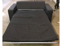 New Ava Fabric Double Sofa Bed - Charcoal. Delivery available