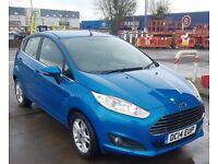 2014 Ford Fiesta 1.0 EcoBoost Zetec (s/s) 5dr Blue Manual Petrol New MOT & FSH