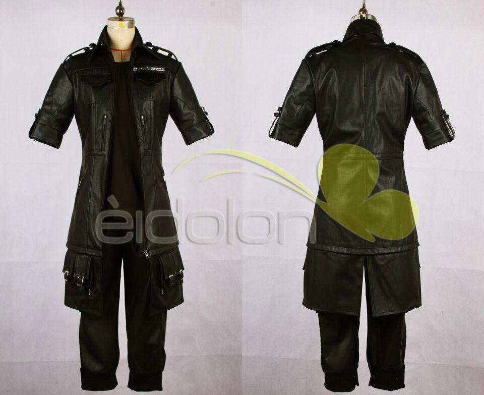 FF Final Fantasy 15 XV Noctis Lucis Caelum Cosplay Kostüm Costume Perücke Schuhe