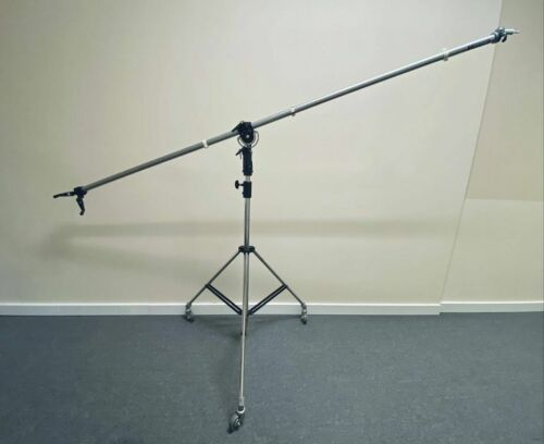 Manfrotto 025bs Super Boom Chrome Stand (Norman) Mint+