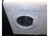 Y165 white hotpoint 7+5kg 1400spin washer dryer comes with warranty can be delivered or collected