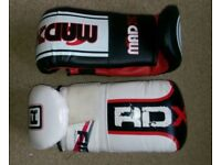Boxing / punch bag gloves 2 pairs