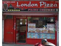 Pizza delivery driver and chef required