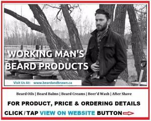 "All Natural ""Made In Canada"" Beard Oil Grooming Products  by BEARD and BRAWN"