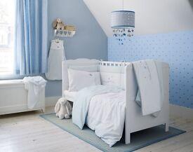 Laura Ashley Twinkle Twinkle Little Star Cot Bedding Set plus Sleeping Bag