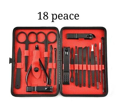 Manicure Set Nail Clippers - Manicure Pedicure Nail Care Set Cutter Cuticle Clippers Kit /Gift Case