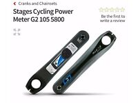 STAGES 105 (FC-5800) POWER METER 175MM