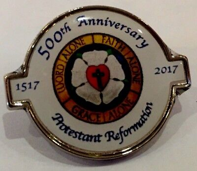 Limited edition -Luther 500 Reformation Anniversary Badge (LOL 616)