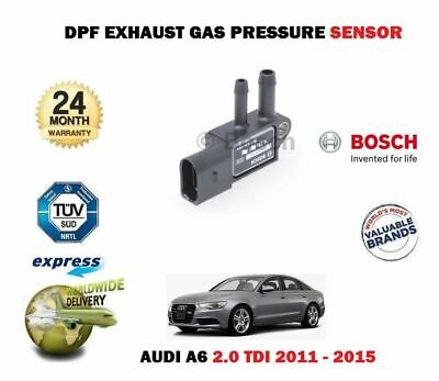 FOR AUDI A6 2.0 TDI + AVANT ESTATE 2011-2015 NEW DPF EXHAUST PRESSURE SENSOR