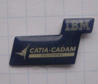 IBM / CATIA-CADAM SOLUTIONS ..........................Computer Pin (141d)