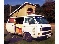 VW T25 Camper Pop Top
