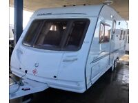 Sterling Elite Explorer 4 Berth, Island bed Caravan & Awning