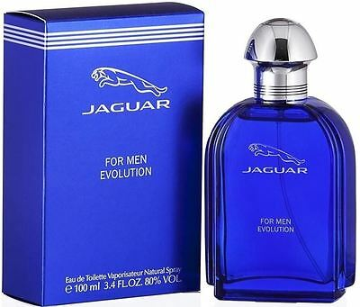 Jaguar Evolution by Jaguar 3.4 oz EDT Cologne for Men New In Box