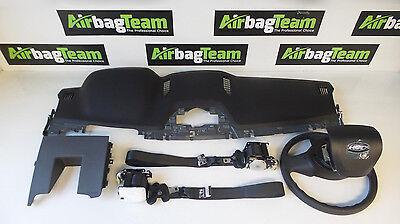 Ford Ranger Airbag Kit 2016   On Driver Passenger Dashboard Seatbelts Knee