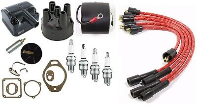 Ih Farmall 100 130 Super A Tractor H4 Magneto Tune Up Kit With H4 Mag Coil