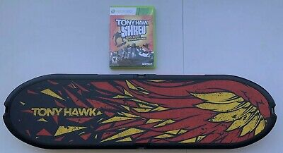 ACTIVISION TONY HAWK SHRED BOARD CONTROLLER AND GAME FOR XBOX 360 Skate