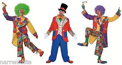 Clown Harlekin Kostüm Anzug Frack Mantel Kasper Clownkostüm Clownfrack - Clown Frack Kostüm