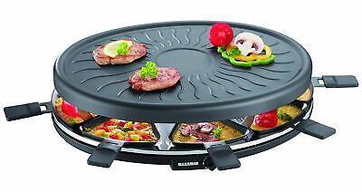 SEVERIN Raclette Partygrill Grill Eléctrico Grande 1000W Incluye 8 Mini-Sartenes