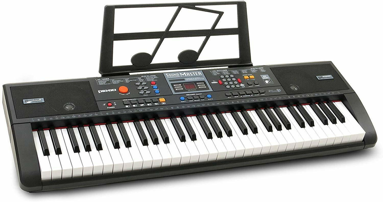 Plixio 61-Key Digital Electric Piano Keyboard & Sheet Music