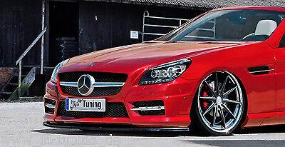 Spoilerschwert Frontspoiler Cuplippe aus ABS Mercedes SLK R172 55 AMG mit ABE