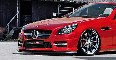 CUP Spoilerlippe für Mercedes SLK R172 55 AMG Line Frontspoiler Spoilerschwert