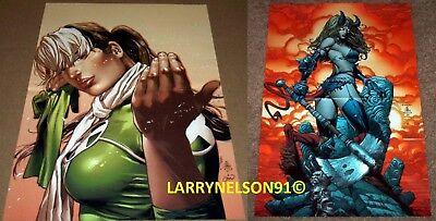 ROGUE POSTER X-INFERNUS BRING IT ON MARVEL UNCANNY X-MEN ANNA MARIE MAGIK XFORCE (Rogue On Xmen)