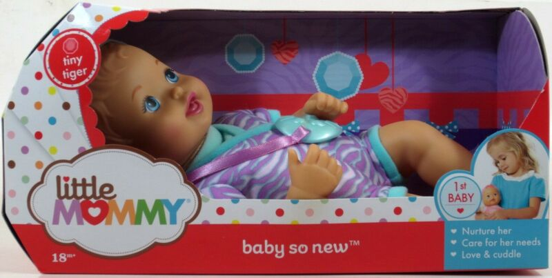 Little Mommy BABY SO NEW Razzle Dazzle Doll NIP newborn #ZZ