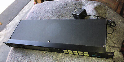 Alesis MidiVerb 4Dual-Channel Parallel Processor w/ power supply Rack Mount