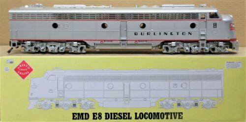 Aristo-Craft ART-23620 Burlington EMD E-8 Diesel Engine G-Gauge - LN - TESTED OK