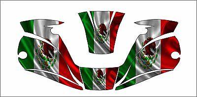 Miller Digital Elite 257213 Tatinium Welding Helmet Wrap Decal Sticker Mexico