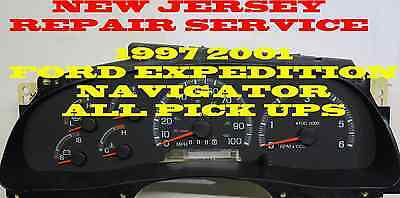97 98 99 2000 01 FORD PICK-UP EXPEDITION CLUSTER SOFTWARE & ODOMETER CALIBRATION