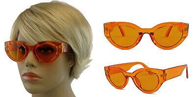 Damen Retro Sonnenbrille Vintage Fashion 60er Jahre Cateye Beatnik Mods bunt