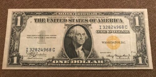 1935-a North Africa $1 silver certificate, VF /XF