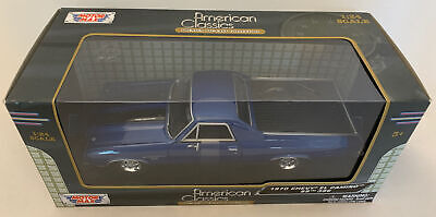 Motor Max 1970 Chevy El Camino SS 396 American Classics,1:24 DieCast, (B116)