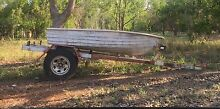 11 foot tinny & unregistered trailer Humpty Doo Litchfield Area Preview
