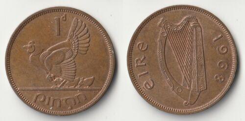 1968 Ireland 1 penny coin