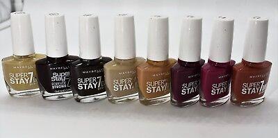 Maybelline Super Stay 7 Days Gel Nail Color Nagellack Farbwahl NEU! 34,90€/100ml