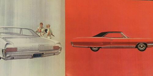 1966 PONTIAC GRAD PRIX SALES BROCHURE