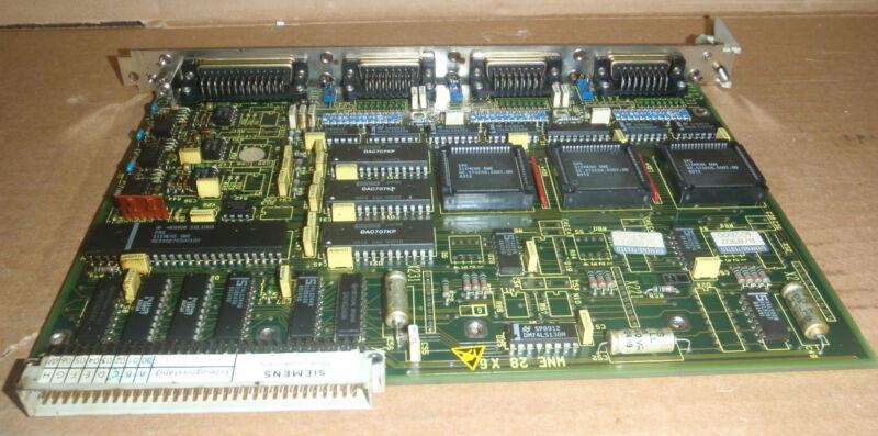 Siemens Circuit Board PCB 6FX1121-4BA01 _ 6FX11214BA01 _ 6FX-1121-4BA01
