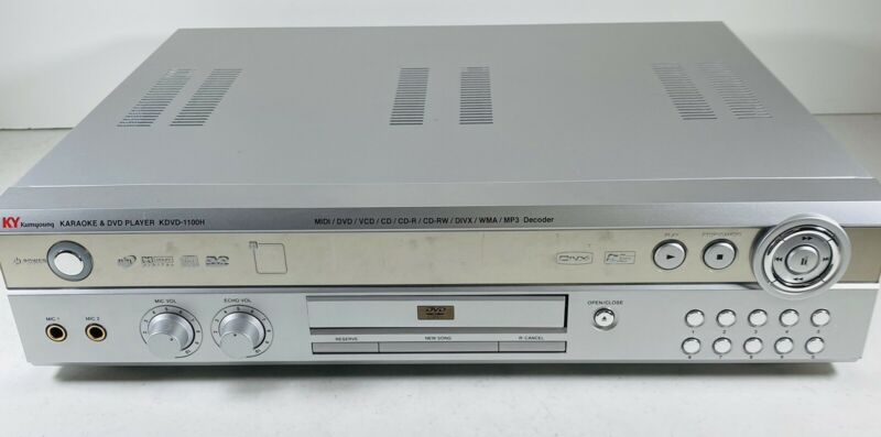 Karaoke Kumyoung KDVD-1100H & DVD Player KPOP Sing MUSIC K POP KY Without Remote
