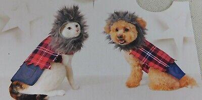Werewolf Cat or Dog Big Bad Wolf Halloween Pet Costume - XS #7400