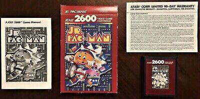 Atari 2600 Pac-Man Jr. Complete