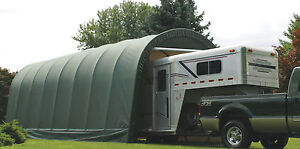 NEW 11x28x10 Quality Weather Shield Portable RV Boat Trailer Garage Shelter