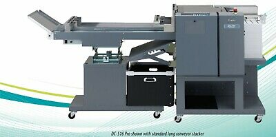 Duplo Dc-516 Pro Multi Finisher With Slitter Cutter And Creaser New Long Stacker