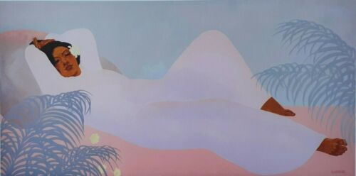 PUA MALIA, 1979 by PEGGE HOPPER ~An Archival Print for Longevity ~ HAWAII
