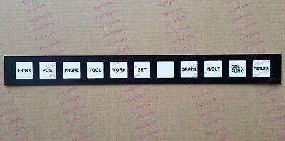 Hitachi Seiki Cnc Keypad Membrane Key Sheet For Ca30 Ca40 Ht25g Ht40g Vm40 Vm50