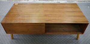 RRP.$595 Ex Display LV Timber Scandi Danish Coffee Table Drawer Melbourne CBD Melbourne City Preview