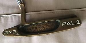 "PING PAL 2 BeCu BERYLLIUM COPPER RH 34"" USED PUTTER Q4129 Loganholme Logan Area Preview"