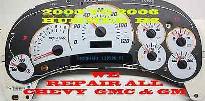 2004 gmc sierra instrument cluster stepper motor